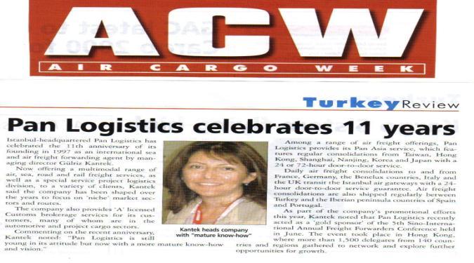 article logistics